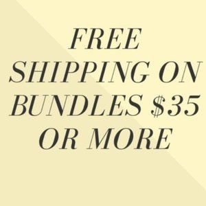 FREE SHIPPING bundles over $35 full price items